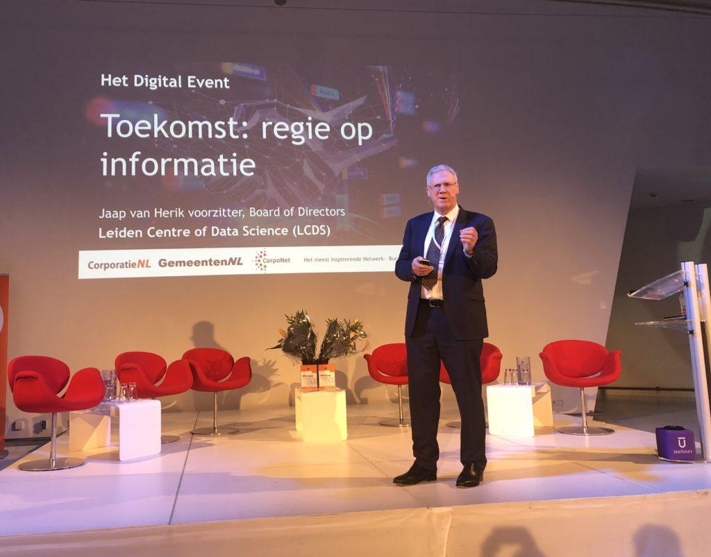 prof dr jaap van den herik digital event